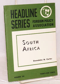 Headline series: number 109, January - February 1955: South Africa