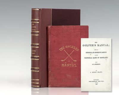 Cupar, Scotland: Whitehead and Orr, 1857. First edition of the first book of prose written on golf a...