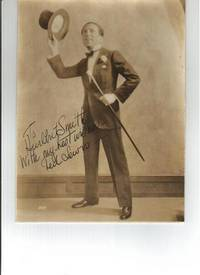 PHOTOGRAPH SIGNED BY TED LEWIS
