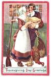 View Image 1 of 2 for  Thanksgiving Day Greetings Inventory #1272