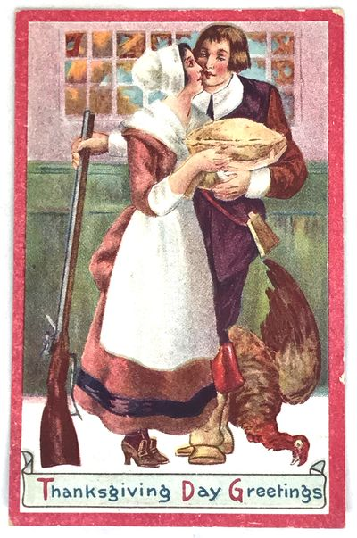 1913. Cards. Color illustrated postcard. Very good. 14 x 9 cm. Festive color illustrated and embosse...