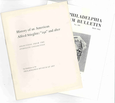 Philadelphia: Philadelphia Museum of Art, 1945. Two volumes. Large octavo. Printed wrappers, and pic...