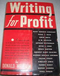 Writing for Profit: A Manual of Professional Patterns and Procedures