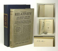 RELATIVITY. The Special And The General Theory. Signed