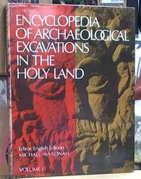 image of Encyclopaedia of Archeological Excavation in the Holy Land 4 volumes, i.e. volume I & II & III & IV