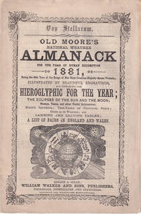 Old Moore's National Weather Almanack, for the Year of Human Redemption 1881