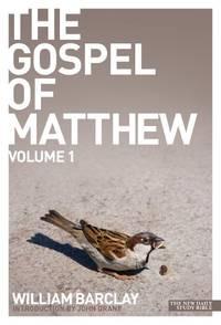 image of The Gospel of Matthew - volume 1 (Daily Study Bible)