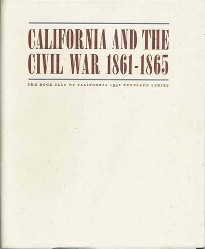 San Francisco: Book Club of California, 1992. First edition. Loose folders in paper portfolio. A fin...
