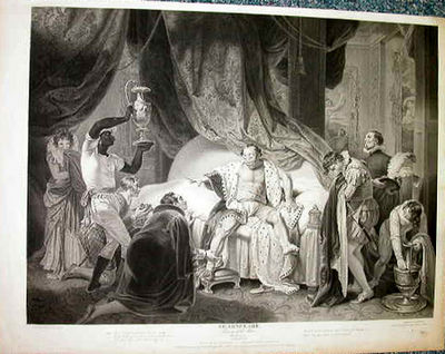 Shakespeare/Boydell. Taming of the Shrew. Introduction. II. After a painting by Smirke, engraved by ...