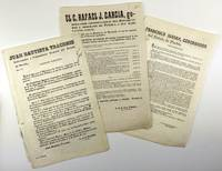 [Large Group of Broadside Decrees Issued by the State Government of Puebla During the Mid-19th Century]
