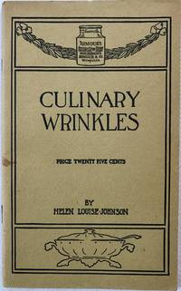 [ADVERTISING] [FOOD HISTORY] Culinary Wrinkles Recipes and Directions for the use of Armour's Extract of Beef