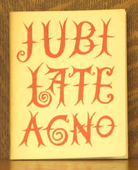 A PORTION OF JUBILATE AGNO - A POEM BY CHRISTOPHER SMART 1722-1771 - FOGG PICTURE BOOK NUMBER 8
