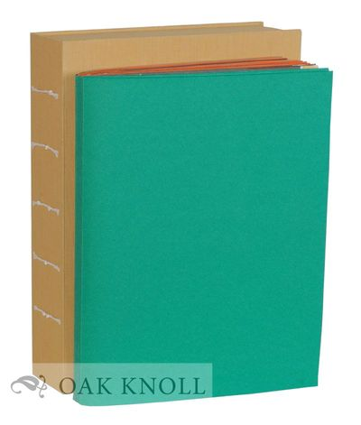 (Princeton Junction, NJ: Debra Weier, 2000. green, orange and brown pages with green wrappers. Title...