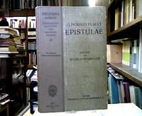 Q. Horatii Flacci Epistulae. Liber primus, I-XX; Liber secundus, I-III. Für den...