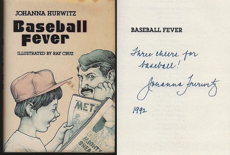 BASEBALL FEVER, Hurwitz, Johanna