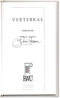 image of Vertebrae: Poems 1978-1994.