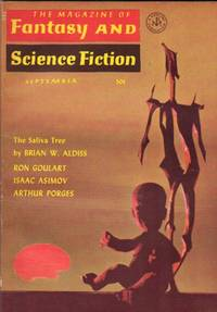 The Magazine of Fantasy and Science Fiction September 1965 -Hog-Belly Honey, The Saliva Tree, Kearny's Last Case, The Great Cosmic Donut of Life, Lunar Landing, Sea Bright, Death in the Laboratory, Turning Point