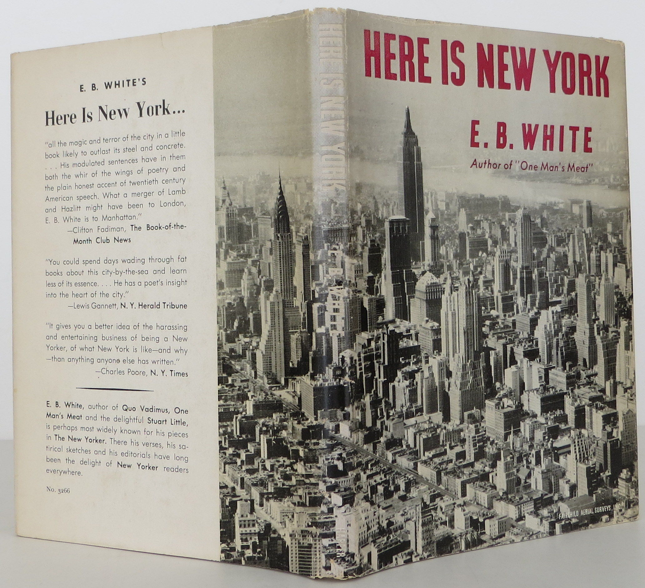 here is new york by e.b. white essay Eb white: eb white, american essayist, author, and literary stylist, whose eloquent, unaffected prose appealed to readers of all ages white graduated from.