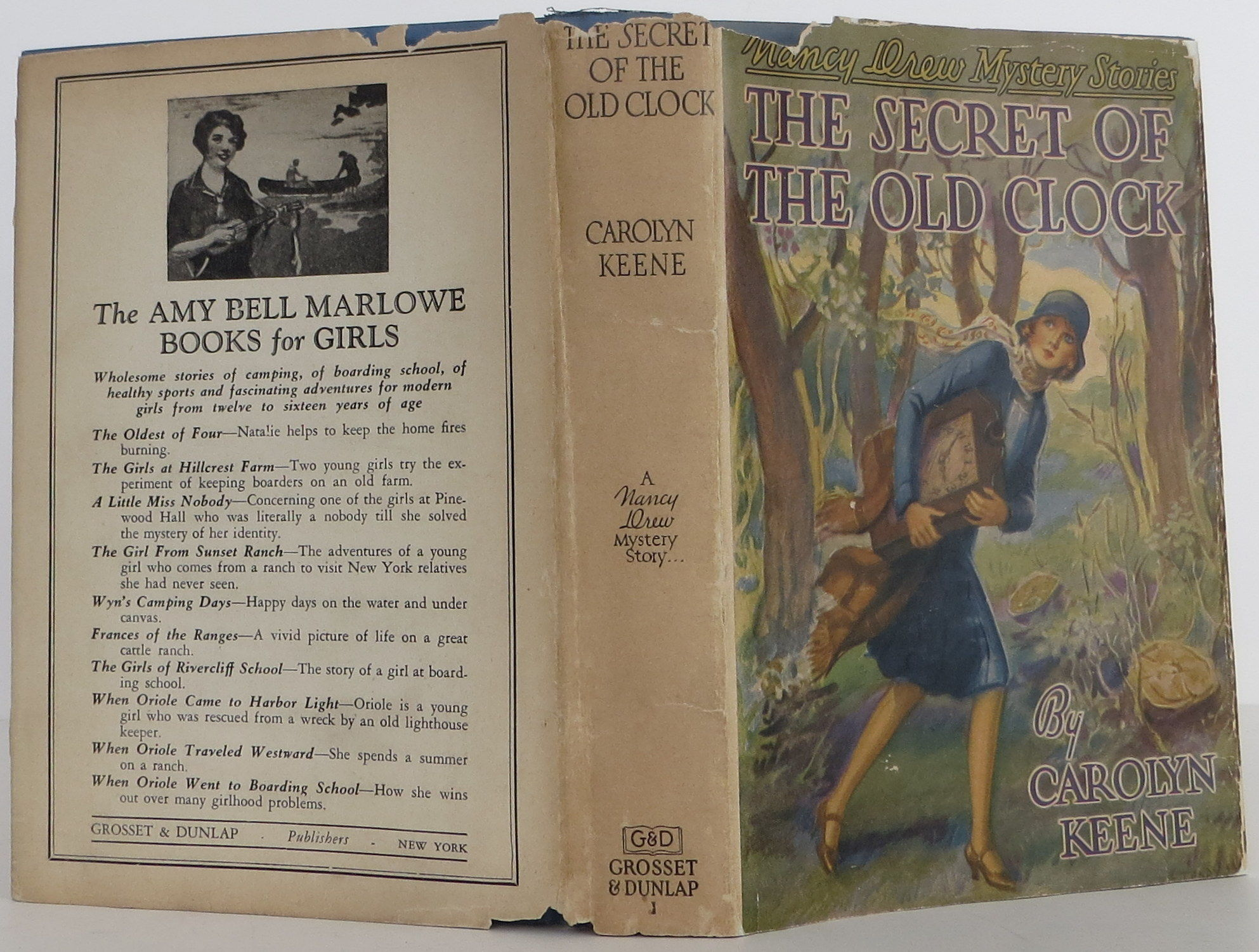 The Secret of the Old Clock by Carolyn Keene - 1st Edition - 1930 - from  Bookbid Rare Books and Biblio com