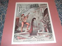 image of Original 1877 Lithograph, Cover for Gondolina Sheet Music by Edouard Dorn