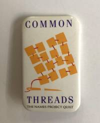 image of Common Threads / The Names Project Quilt [pinback button]
