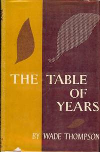 THE TABLE OF YEARS