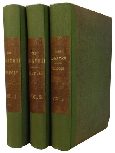 London: Richard Bentley, 1851. 1st ed. Hardcover. Good. 3 vols. frontis (in Vol. I), xv, 402, xi, 37...