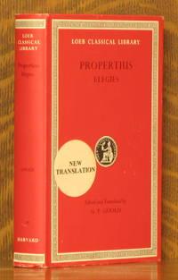 PROPERTIUS - ELEGIES (Loeb Classical Library, LCL 18)