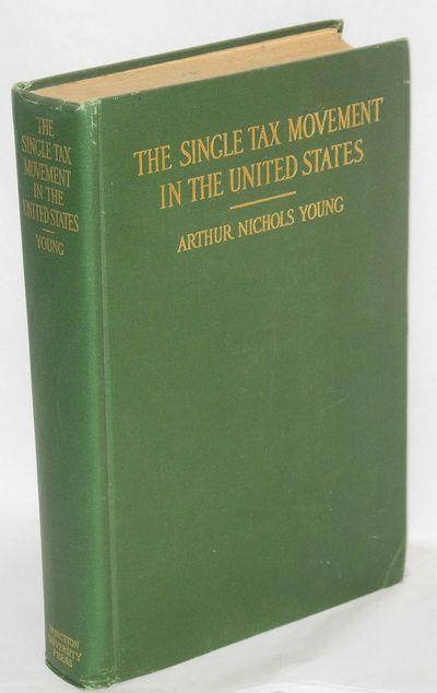 Princeton: Princeton University Press, 1916. x, 340p., green cloth boards with gilt lettering, corne...