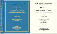 An Essay on a Congress of Nations for the Adjustment International.. by  William. Mark Weston Janis (new Intro.) Ladd - Hardcover - 2007 - from The Lawbook Exchange Ltd (SKU: 46354)