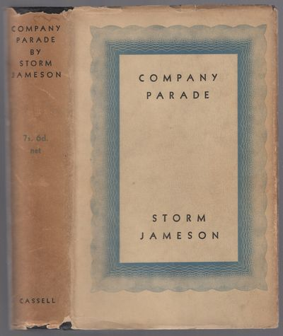 London: Cassell, 1934. Hardcover. Near Fine/Very Good. First edition. Modest offsetting on front fly...