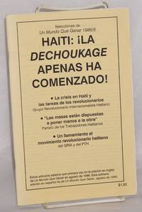 Haiti: ¡La dechoukage apenas ha comenzado! Selecciones de Un Mundo Que Ganar, 1986