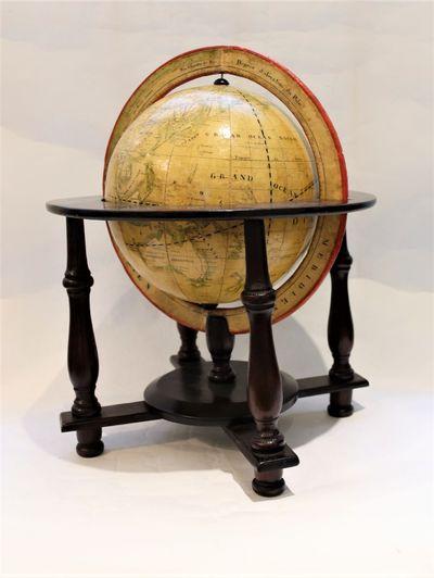 Manuscript Terrestrial Globe by...