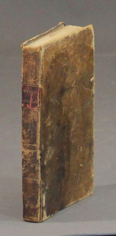 Baltimore: Plaskitt & Cugle, 1839. 8vo, folding frontispiece (