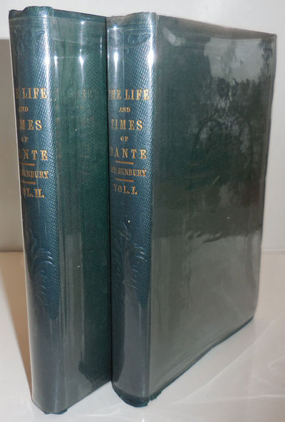 London: Richard Bentley, 1852. First edition. Cloth. Very Good. Two uniform 8vo's. First edition of ...