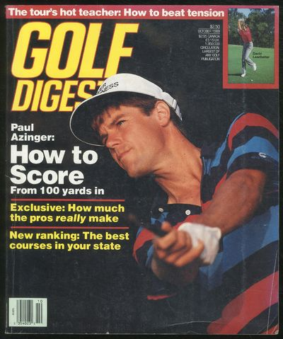 Norwalk, Connecticut: Golf Digest, 1989. Softcover. Very Good. First thus. Very good Magazine. Cover...