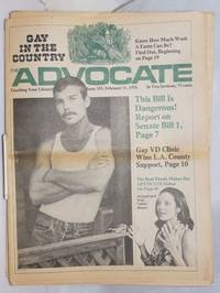 image of The Advocate: touching your lifestyle; #183, February 11, 1976 in two sections