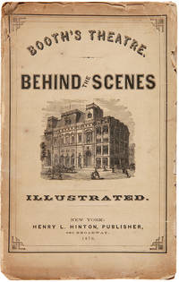 BOOTH'S THEATRE. BEHIND THE SCENES. ILLUSTRATED