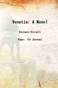 image of Venetia: A Novel 1870 [Hardcover]