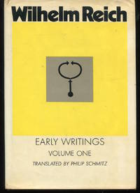 Early Writings, Volume One. Translated  by Philip Schmitz.