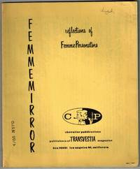 image of Transvestism)  Femmemirror, Reflections of FemmePersonators. Numbers 1 and 2, January and February, 1962