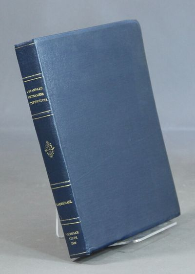 : Michigan State University Viet-Nam Advisory Group, 1960. First edition, 4to, pp. viii, 203 leaves,...