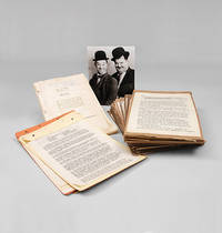 A collection of original Laurel and Hardy scenarios and scripts from the files of the Hal Roach...