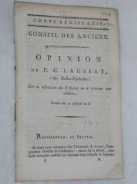 Opinion sur la résolution du 8 floréal an 6 relative aux Théâtres.