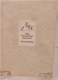 Q.R.V. The Universal Solvent by  Edward Gorey - Paperback - 1990 - from Royoung bookseller, Inc. and Biblio.com