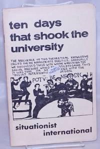 image of Ten days that shook the university