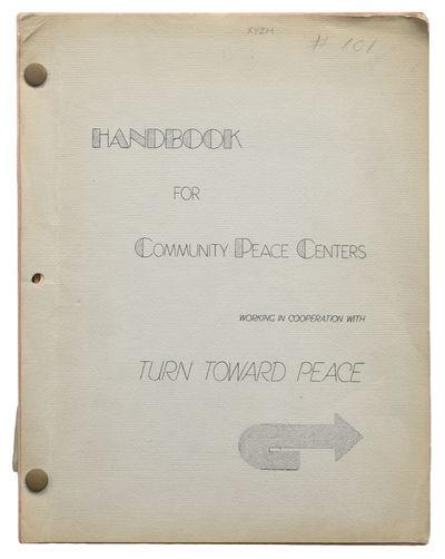 Handbook for Community Peace Centers...