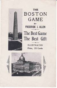 The Boston Game Advertising Pamphlet