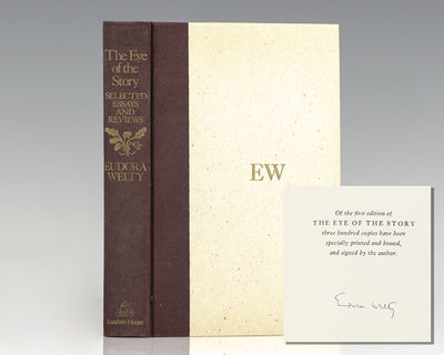 New York: Random House, 1977. Signed limited edition, one of 300 copies signed by Eudora Welty. Octa...
