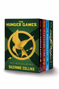 HUNGER GAMES 4 NEW HARDCOVER BOOK SET BALLAD OF SONGBIRDS INCLUDED